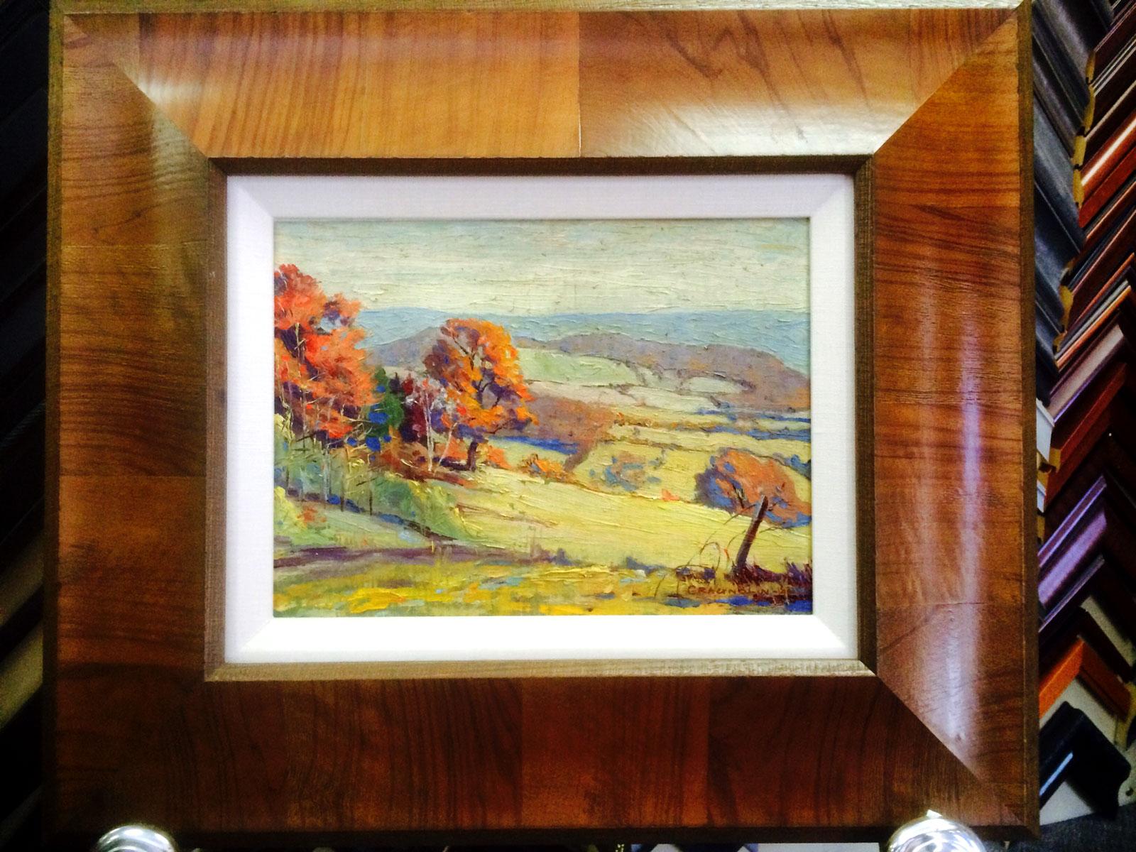 Craignolan @ Stu-Art Supplies custom frame