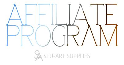 AFFILIATE PROGRAM @ Stu-Art Supplies