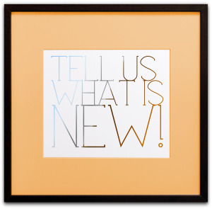 Tell Us What Is New and We Will Publish It @ Stu-Art Supplies