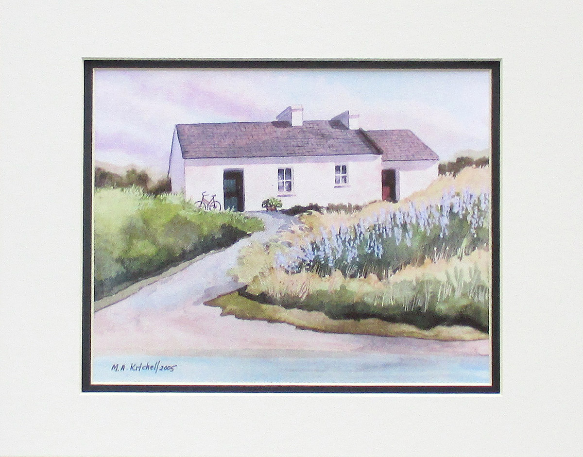 The Irish Cottage by Mary Ann Kitchell @ Stu-Art Supplies