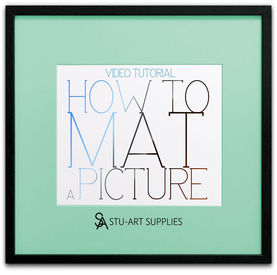 Video Tutorial How To Mat a Picture @ Stu-Art Supplies