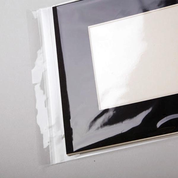 Clear-as-glass plastic bags @ Stu-Art Supplies