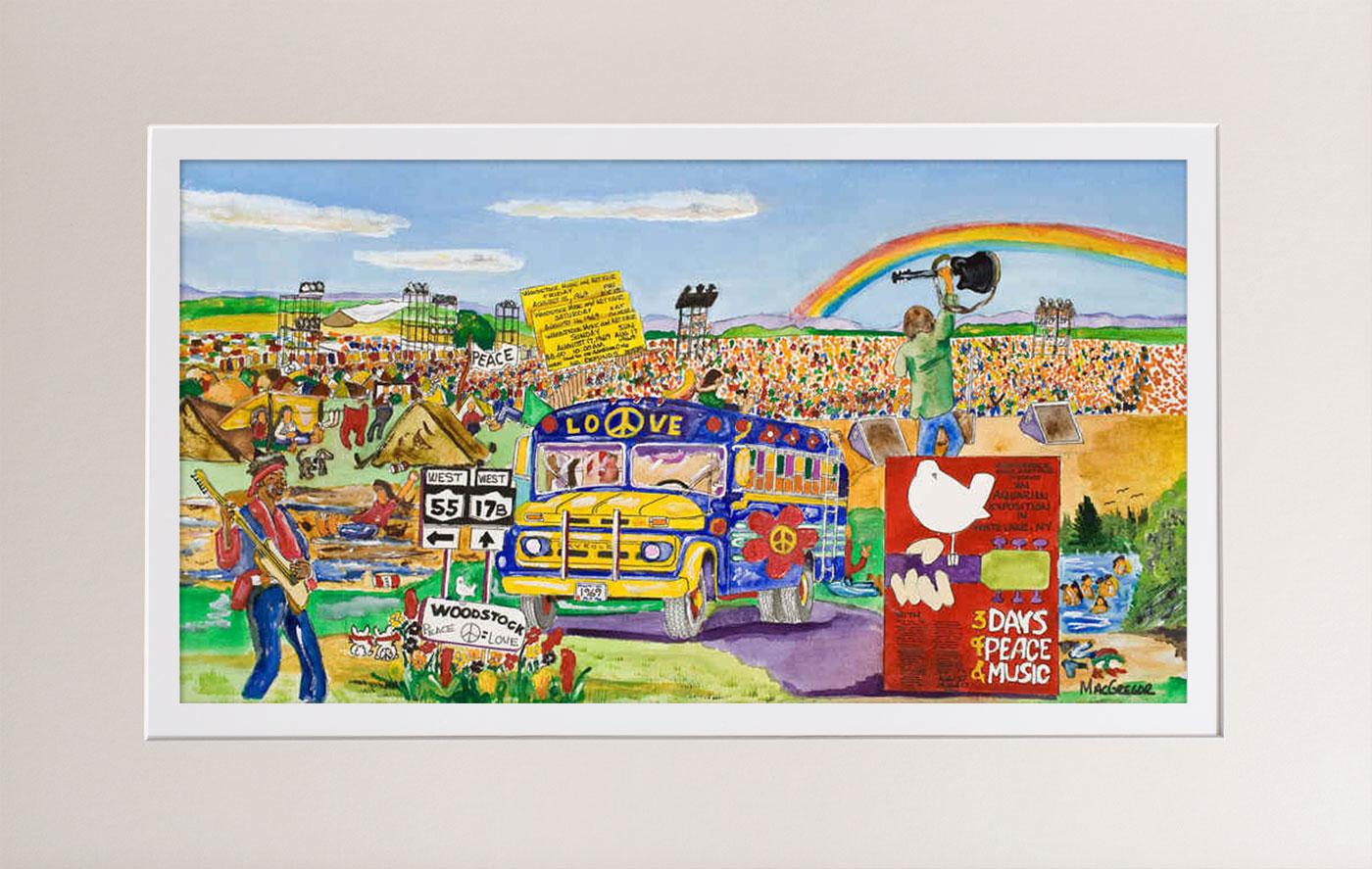 Remembering Woodstock by William B MacGregor Jr @ Stu-Art Supplies
