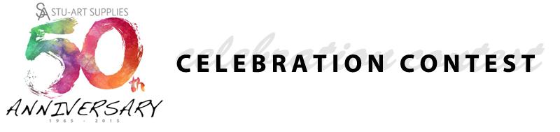 Stu-Art Supplies 50th Anniversary Celebration Contest-image-header