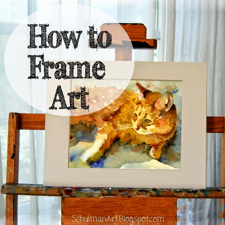 How to frame a picture by Miriam Schulman