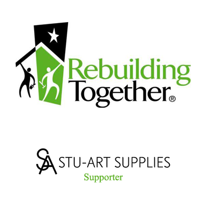 Stu-Art Supplies Rebuilding Together