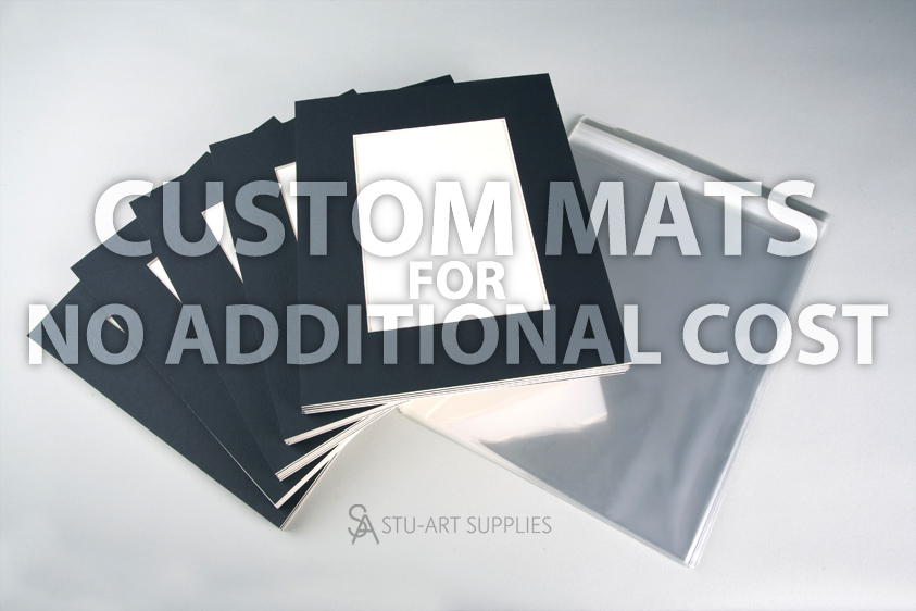 Stu-Art Supplies Custom mats no additional cost