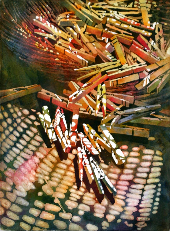 Linda Daly Baker art classes