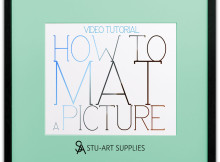 Video Tutorial How To Mat a Picture @ Stu-Art Supplies