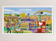 Remembering Woodstock by William B MacGregor Jr @ Stu-Art Supplies
