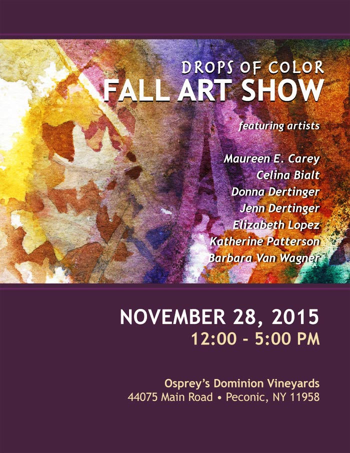 Drops of Color Art Show