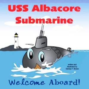 USS Albacore Submarine by Denise Brown
