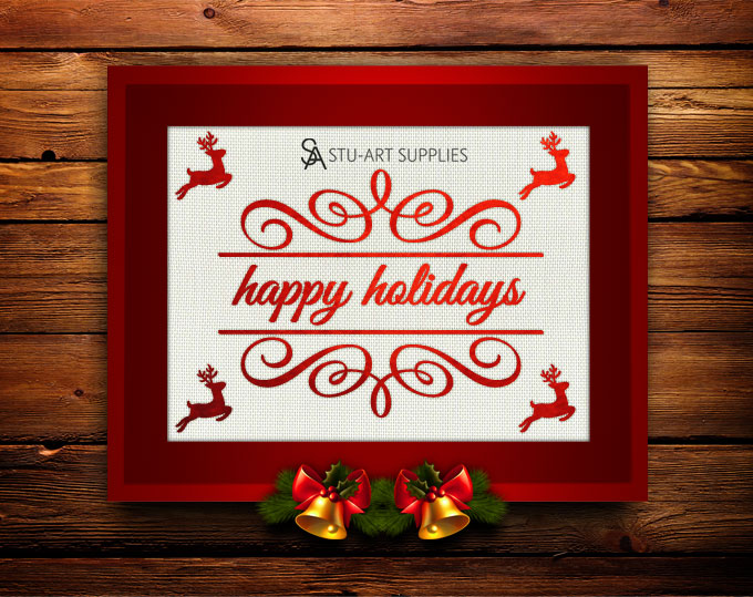 Happy Holidays 2015 @ Stu-Art Supplies