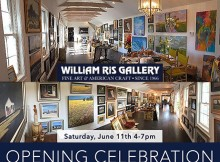 William Ris Gallery Opening invitation